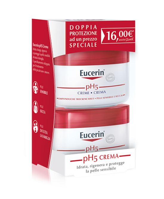 EUCERIN PH5 BIPACCO CREMA 75+75ml